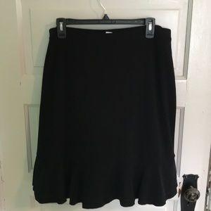 White House Black Market Size L Skirt